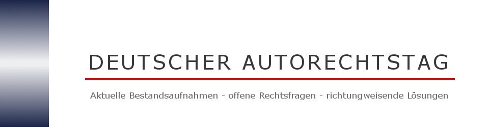 Deutscher Autorechtstag